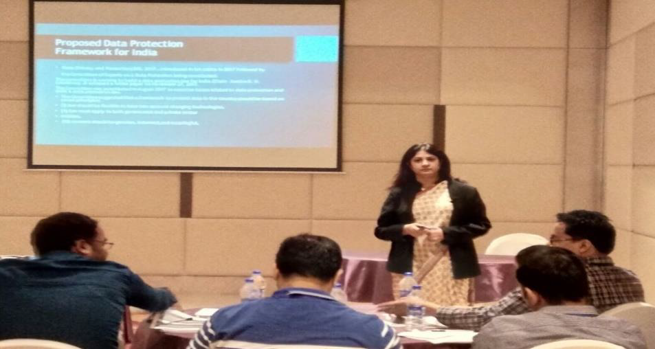 Training workshop for Corp connect event, GDPR and Data privacy, Gurgaon, 18th May, 2018