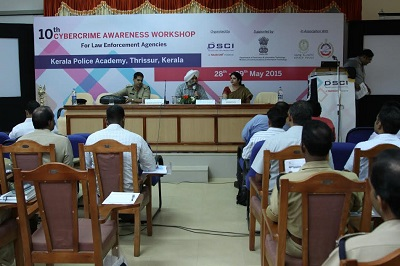 10th cybercrime awareness workshop, DSCI with Kerala Police Academy