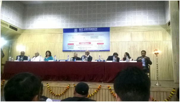 FIRE's contribution to conference organised by SGT University & National Law School,Delhi, 2017