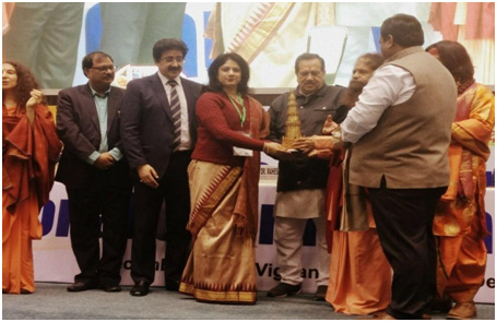 Dr. Seth was conferred the National Gaurav Award in 2017