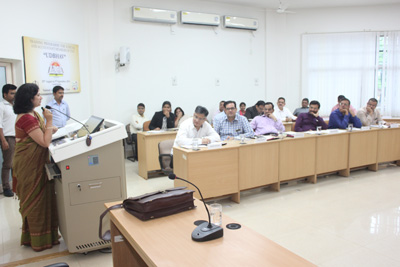 Training Judicial officers at Nagpur, August 2016