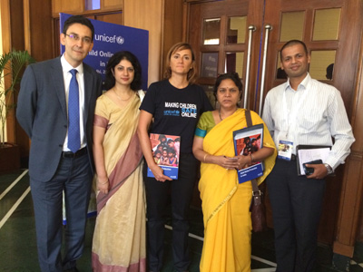 At launch of UNICEF child safety report, September 2016