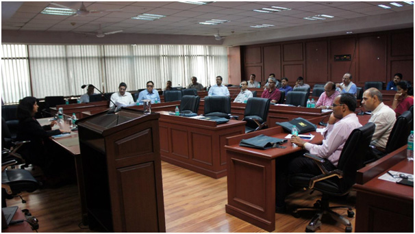 Training in cybercrimes, IRS officers, NIU, Delhi, 22 Sept,2017